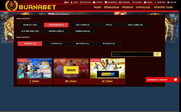 pilih provider permainan taruhan judi online M8Bet