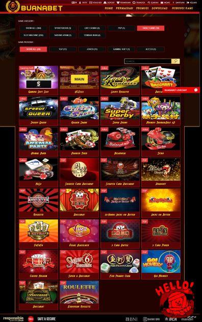 Klik Tombol Main Pada Pilihan Provider Permainan ACE333
