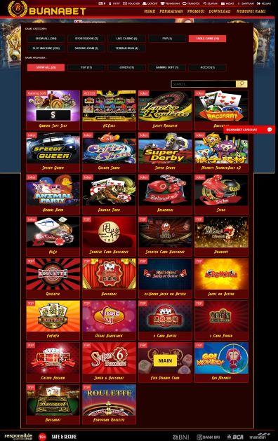 Pilihan Provider Permainan Game Kasino White Label